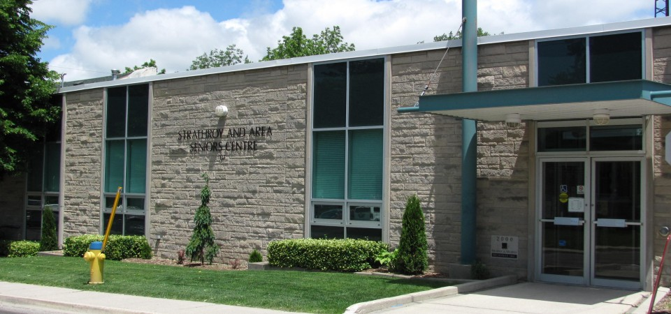 Strathroy and District Chamber of Commerce building.